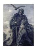 The Watch on the Rhine, 1874 Giclee Print by Hermann Wislicenus