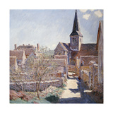 Bennecourt, 1885 Giclee Print by Claude Monet