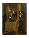 The Confession Giclee Print by Giuseppe Crespi
