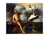 Alpheus and Arethusa Giclée-tryk af Carlo Dolci
