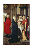 The Presentation in the Temple, Right Wing of Triptych: Adoration of the Magi, 1479-80 Giclee Print by Hans Memling