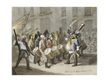 Carnival of Basel, 1843 Giclee Print by Hieronymus Hess