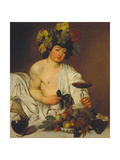 The Young Bacchus Giclée-tryk af  Caravaggio
