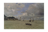 The Lighthouse of Honfleur Giclee Print by Claude Monet