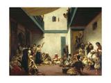 A Jewish Wedding in Morocco, C. 1841 Print by Eugène Delacroix