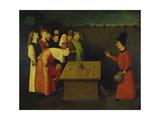 Hieronymus Bosch - The Conjuror, 1475-80 Digitálně vytištěná reprodukce