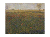 Alfalfa, St, Denis, 1885 Giclee Print by Georges Seurat