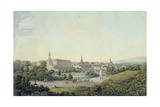 View of Weimar Giclee Print by Georg Melchior Kraus