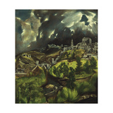 View of Toledo, C. 1597-99 Giclee Print by  El Greco