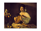 Young Lute Player, C. 1595 Giclee Print by  Caravaggio