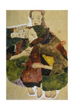 Group of Three Girls, 1911 Giclee Print by Egon Schiele