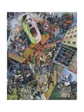 The Third Reich (Das Dritte Reich), 1934 Giclee Print by Heinrich Vogeler