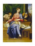 Madonna with Child, St, Joseph and John the Baptist, 1563 Giclee Print by Marcello Venusti