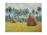 Haystack in Giverny, 1884 Giclee Print by Claude Monet