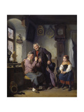 At the Old Shoemaker, 1860 Giclee Print by Hanno Rhomberg