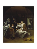 Lovesick Woman Print by Jan Steen