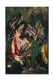 Adoration of the Shepherds, C. 1590 Giclee Print by  El Greco