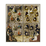 High Altar of the Dominican Church of Frankfurt (Closed), 1501 Giclee Print by Hans Holbein the Elder