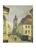 Belfry of Douai Print by Jean-Baptiste-Camille Corot