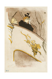 The Box of the Golden Mask, (Cover of a Programme for 'Le Missionaire'), 1894 Giclee Print by Henri de Toulouse-Lautrec