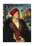 Portrait of Dr, Cuspinian, Ca, 1502-03 Giclee Print by Lucas Cranach the Elder