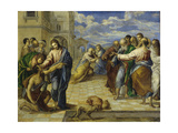 The Healing of the Blind, C. 1570 Giclee Print by  El Greco