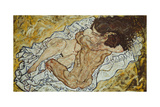 The Embrace (Lovers II,), 1917 Giclee Print by Egon Schiele