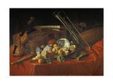 Stillleben Mit Musik-Instrumenten Giclee Print by Cristoforo Munari
