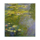 The Waterlily-Pond, (Le Bassin Aux Nymphéas), 1919 Giclee Print by Claude Monet
