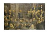 Bismarcks Letzte Reichstagsrede Am 6 Februar 1888 Giclee Print by Ernst Henseler