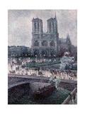 Notre Dame, C. 1900 Prints by Maximilien Luce