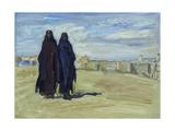 Sudanese Women, 1914 Giclée-tryk af Max Slevogt