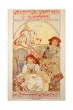 Krajinska Vystava V Ivancicich, 1912 Giclee Print by Alphonse Mucha