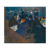 At the Moulin Rouge, 1892-93 Giclee Print by Henri de Toulouse-Lautrec