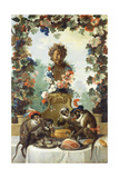 The Feast of the Monkeys Giclee Print by Jean-Baptiste Oudry
