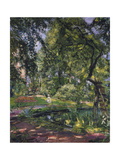 Garten at Godramstein with Crooked Tree, 1910 Giclee Print by Max Slevogt