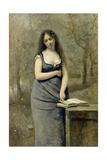 Velleda Giclee Print by Jean-Baptiste-Camille Corot