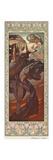 Evening Star (Etoile Du Soir), 1902 Giclée-Druck von Alphonse Mucha