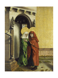 The Meeting of Anna and Joachim at the Golden Gate, C. 1440 Giclee Print by Konrad Witz