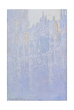 The Portal of Rouen Cathedral in the Morning Fog (Le Portal, Brouillard Matinal), 1894 Giclee Print by Claude Monet