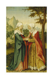 The Visitation, C. 1510-11 Giclee Print by Hans Von Kulmbach