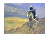 Sandstorm in the Libyan Desert, 1914 Giclee Print by Max Slevogt