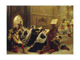 Mary Stuart, 1866 Giclee Print by Emanuel Leutze