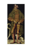 Portrait of Henry the Pious, Duke of Saxony, 1514 Giclee Print by Lucas Cranach the Elder