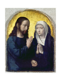 Christ Bidding Farewell to His Mother, 1490-1495 Giclee Print by Gerard David