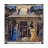 Nativity Giclee Print by  Fra Angelico