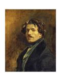 Self-Portrait, C. 1837 Posters by Eugène Delacroix