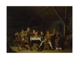 Gay Gathering of Peasants Giclee Print by Jan Miense Molenaer