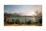 The Harbour at Rio De Janeiro, 1864 Impression giclée par Martin Johnson Heade