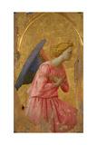 Angel of the Annunciation (Fragment) Giclée-tryk af Fra Angelico
